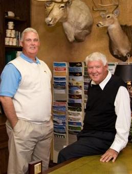 Kip and Earl Estep of Athens Tree Farm, East Texas